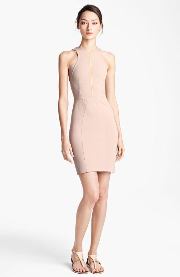Yigal Azrou?l Compact Jersey Dress