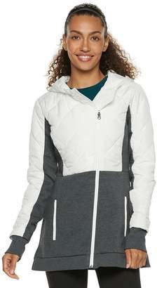 Fila Sport Women's SPORT Quilted Fleece Hooded Jacket