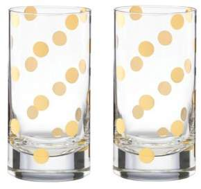 Kate Spade Pearl Place Highball Glass, Set of 2