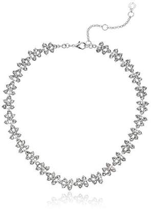Anne Klein Tone and Crystal All Around Collar Necklace