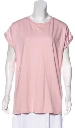 Balmain Short Sleeve Knit Top