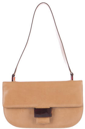 pradaPrada Spazzolato Shoulder Bag
