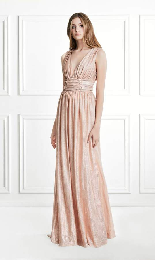 Rachel Zoe Madison Metallic Jersey Gown – Shop Playsuitsandmore