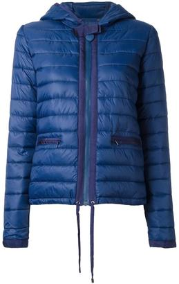 Twin-Set padded hooded jacket $192.49 thestylecure.com