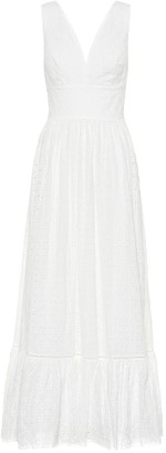 Heidi Klein Malta Frill cotton maxi dress