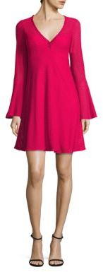 Nanette Lepore Ciao Bella Bell Sleeve Dress $328 thestylecure.com