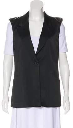 Elizabeth and James Notch-Lapel Solid Vest