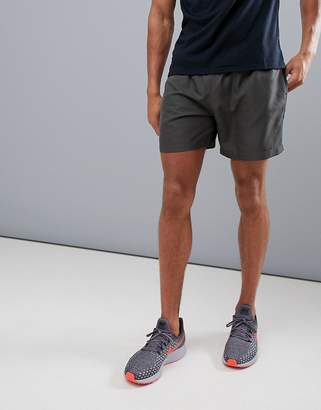 New Look SPORT Running Shorts In Dark Gray
