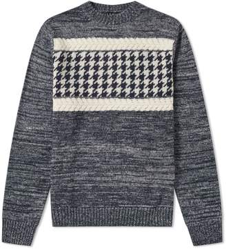 A.P.C. Shape Textured Crew Knit