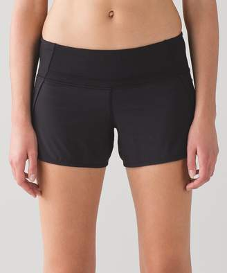 Lululemon Run Times Short *Block-It Pocket 4""