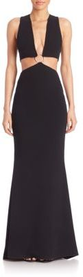 Cinq a Sept Everest Sleeveless Gown $695 thestylecure.com