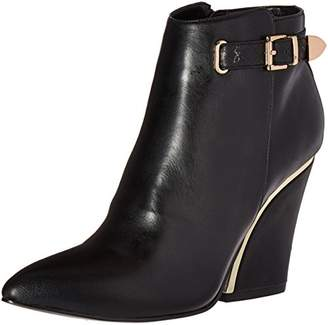 Luichiny Women's Gone Bananas Ankle Bootie