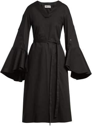 DAY Birger et Mikkelsen TEIJA Tie-waist cotton-poplin dress
