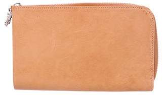 Maison Margiela Leather Full-Zip Wallet