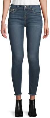 True Religion Women's Skinny Cropped Jeans - Eubu Sunse, Size 30 (8-10)