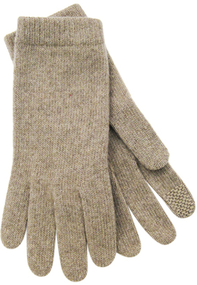 Tech-Capable Cashmere Gloves $86 thestylecure.com