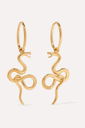 MeDusa Meadowlark Gold-plated Earrings - one size