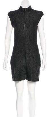 Nina Ricci Wool Metallic Dress w/ Tags