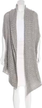 Hinge Sleeveless Knit Cardigan