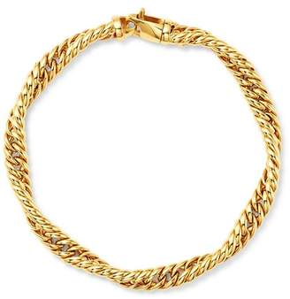 Bloomingdale's Twisted Curb Chain Bracelet in 14K Yellow Gold - 100% Exclusive