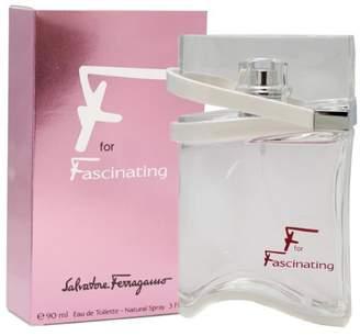 Salvatore Ferragamo F For Fascinating for Women, Eau De Toilette Spray 3-Ounce