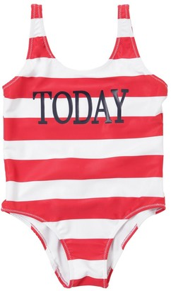 Alberta Ferretti Today Print Lycra One Piece Swimsuit