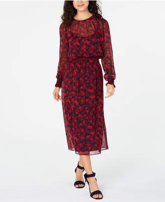 Tommy Hilfiger Long Sleeve Floral Dress