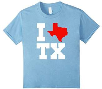 I Love Texas Shirt For True Texans Who Have The Heart Of Tx