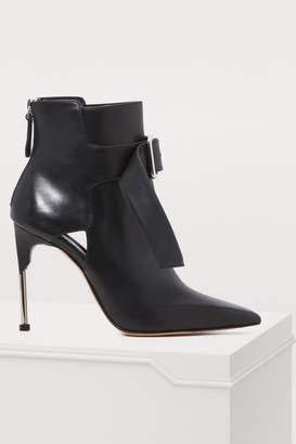 Alexander McQueen Buckle ankle boots