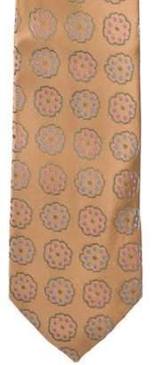 Charvet Honeycomb Silk Tie w/ Tags