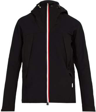 Moncler Hooded Windstopper Jacket - Mens - Black
