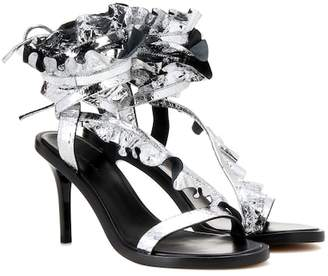 Isabel Marant Ansel metallic leather sandals