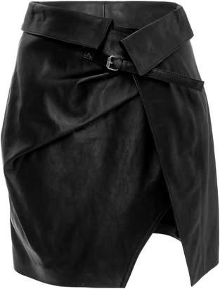 Isabel Marant Leather Mini Skirt