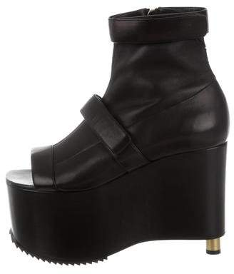 Vera Wang Platform Ankle Boots