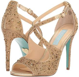 Betsey Johnson Blue by Sage High Heels