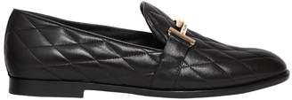 Tod's 10mm Double T Quilted Leather Loafers