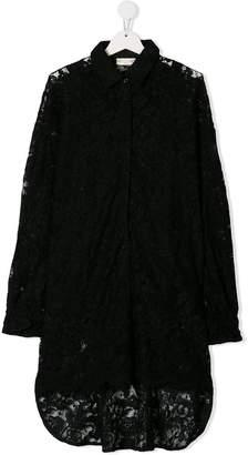 MonnaLisa TEEN lace shirt dress