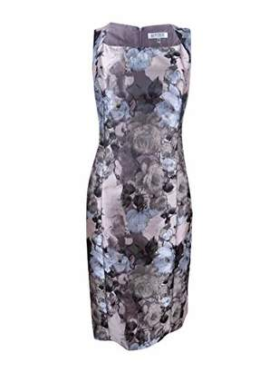 Kasper Women's Petal Printed Sheath Dress