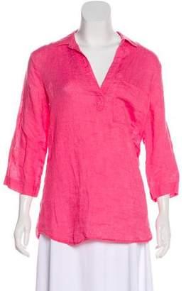 Bella Dahl Linen Button-Up Top