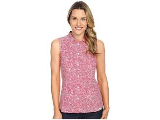 Jack Wolfskin Wahia Print Sleeveless Shirt Women's Sleeveless