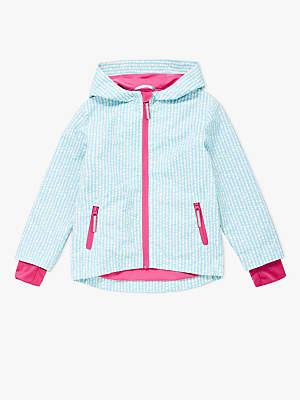 John Lewis & Partners Girls' Geo Spot Jacket, Blue