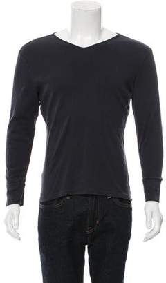 Paul Smith Woven V-Neck Sweater