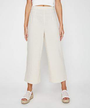 Alice In The Eve Anna Micro Gingham Crepe Pant
