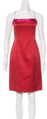 Tahari Silk Midi Dress