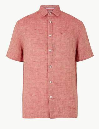 Marks and Spencer Pure Linen Relaxed Fit Shirt