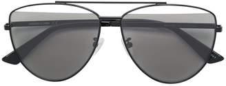 McQ Eyewear demi lens aviators