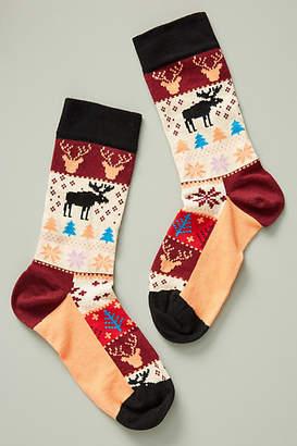 Happy Socks Holiday Fair Isle Socks