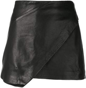 Zadig & Voltaire Zadig&Voltaire Fashion Show wrap-style mini skirt
