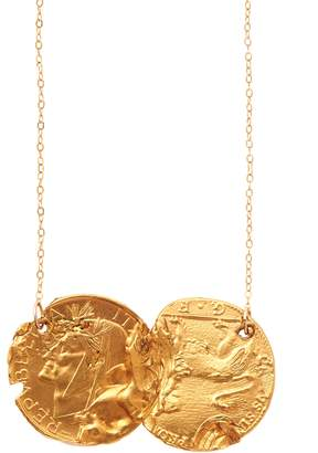 Alighieri Gold Dante & The Lion Necklace