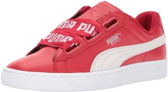 Puma Women's Basket Heart DE Wn, Toreador White